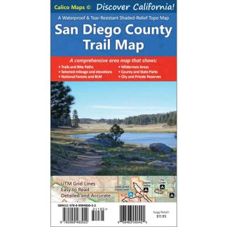San Diego County Trail Map