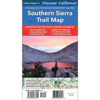 Southern Sierra Trail Map